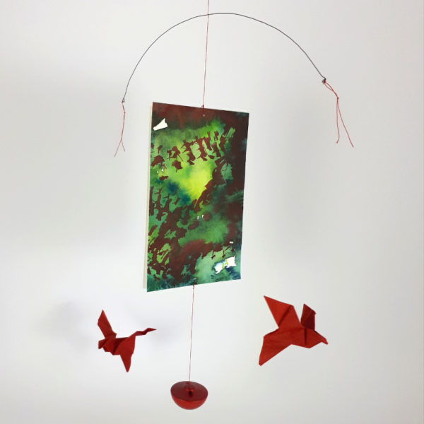 Esther Maurer, Mobile Oiseaux rouges