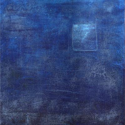 Esther Maurer, tableau Fenêtre bleue, 2003