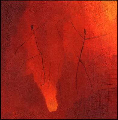 Esther Maurer, tableau Danse du feu, 2005