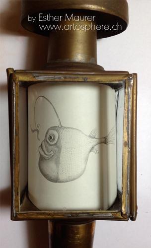 Esther Maurer, Poisson pêcheur dans une lanterne